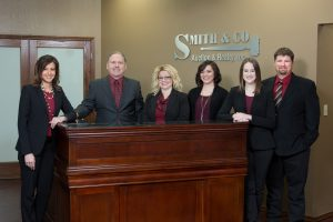 Staff from Smith & Co. Real Estate